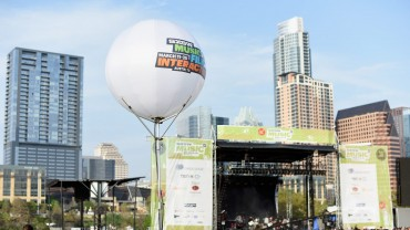 Space Lighting Airstar at SXSW Music Festival