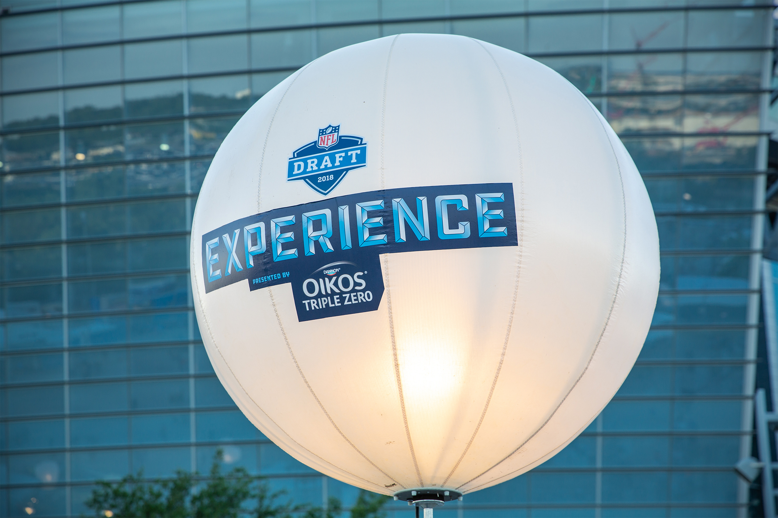 NFL Draft Outdoor Event Lighting